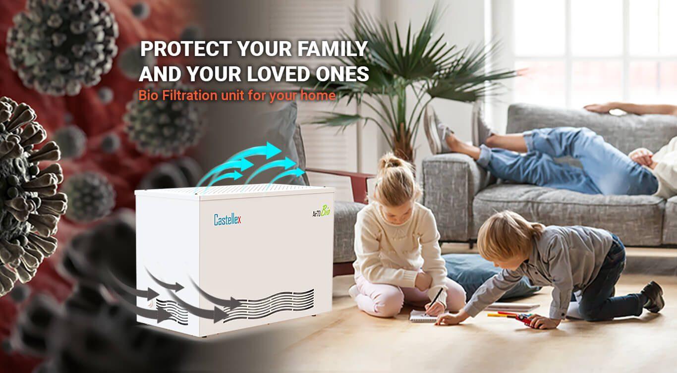 Biological Air Filtration For Your Home Castellex