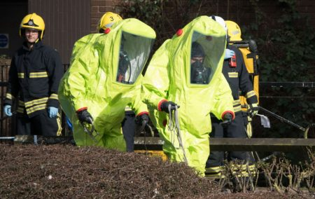 Biological plot in Germany, Novichok in Britain, increased interest in Castellex NBC life support systems