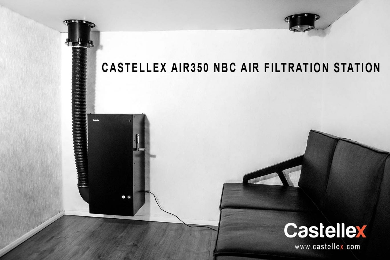Castellex Air350 Black Wall Hang