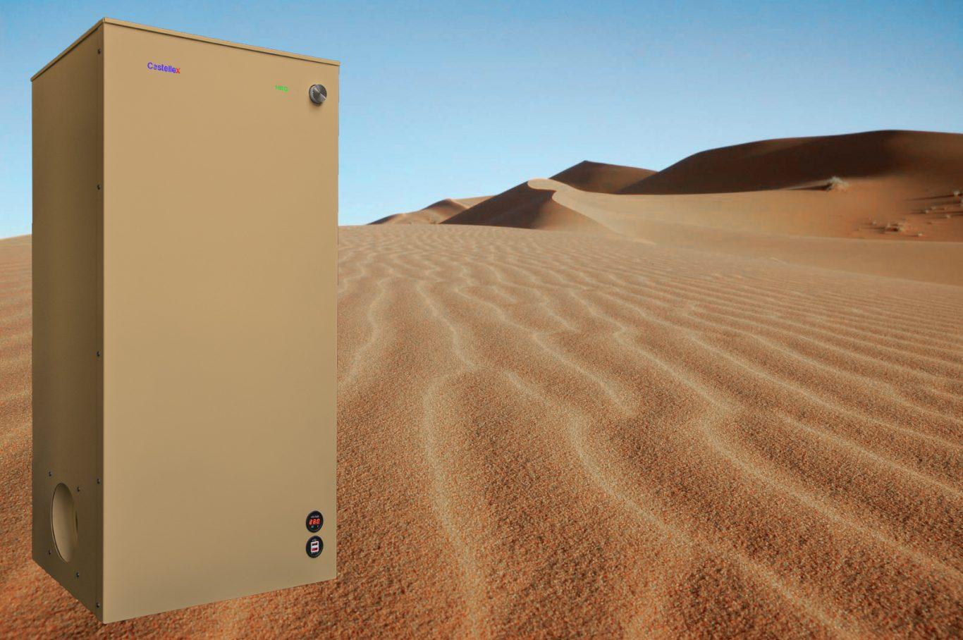 NBC air filtration unit Castellex Air550uh Desert