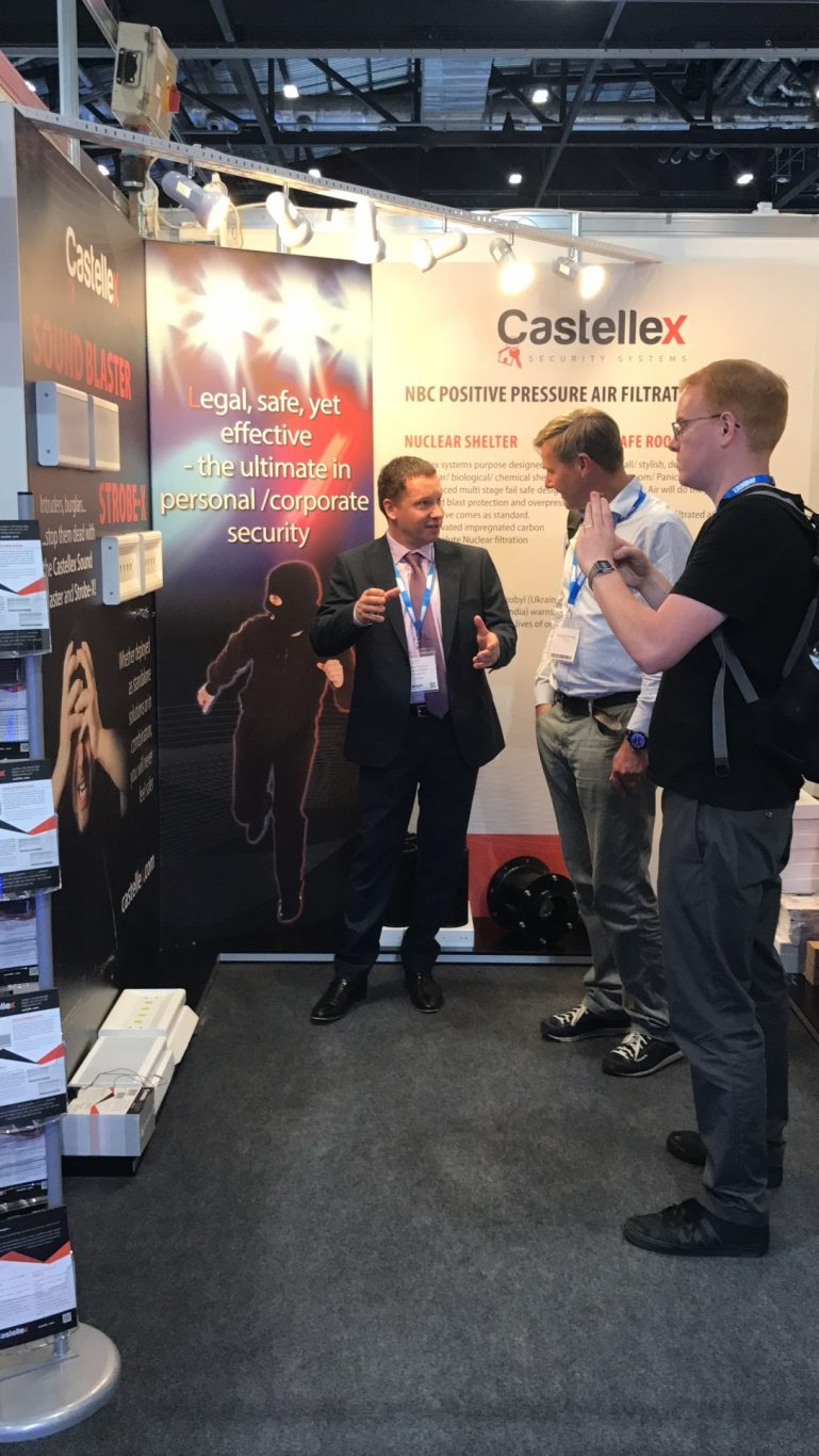 Castellex Nbc Air Filtration At Ifsec International