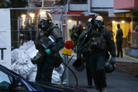 Germany Tunisia Arrest Chemical