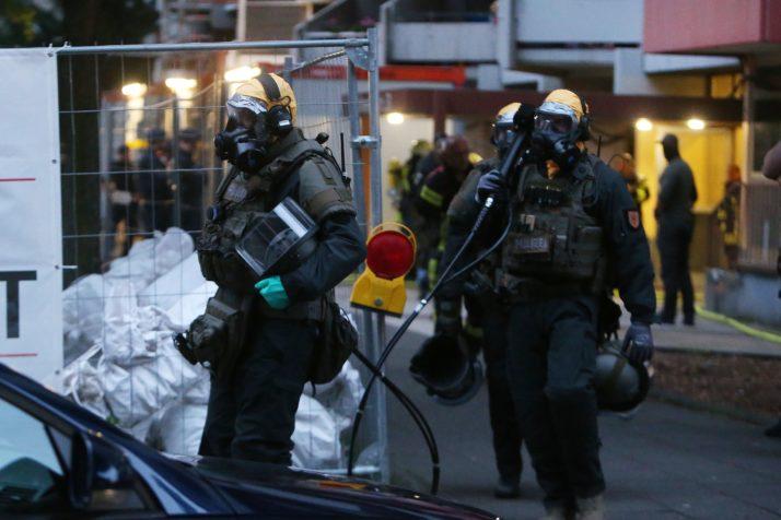Germany Tunisia Arrest Chemical