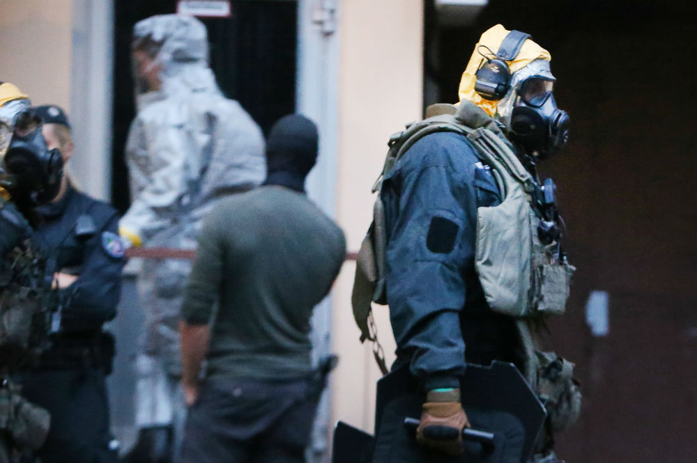 Germany Foiled Biological Attack