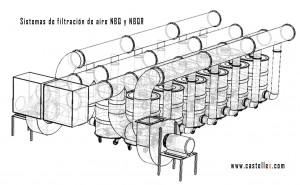 Sistemas de filtracion de aire NBQ y NBQR